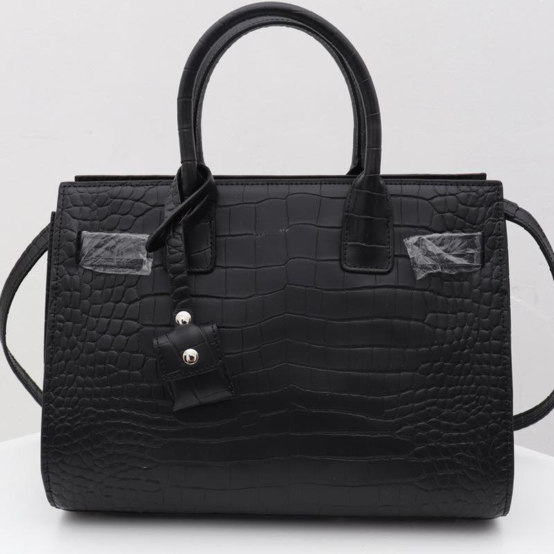 Frauen-Handtaschen Tote Bag Lady Umhängetaschen Art und Weise der neuen Art-Qualitäts-echtes Leder Alligator-Dame-Beutel-freies Verschiffen
