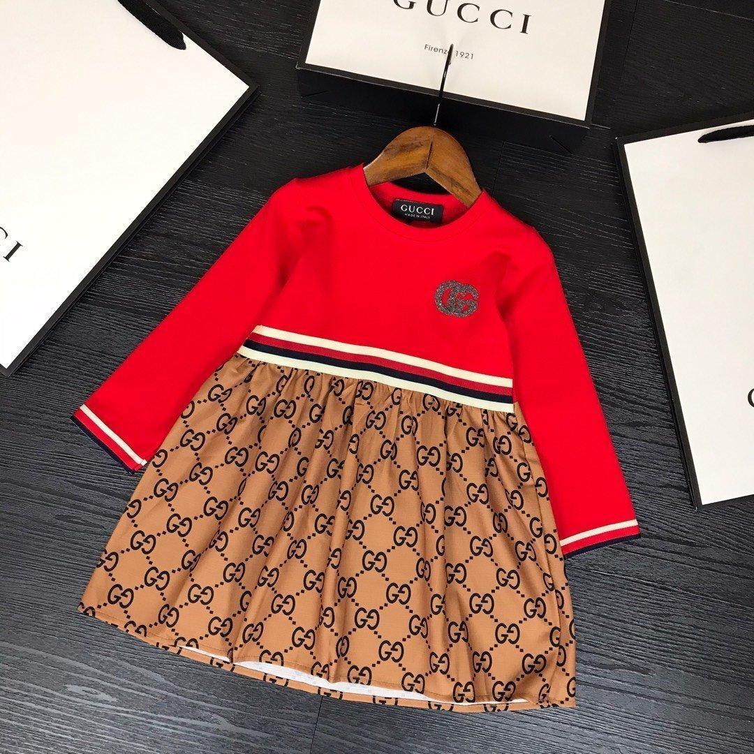 высокое качество 2020 детская одежда девушки платье платья baby girl одежда ALEV R80CUNC7