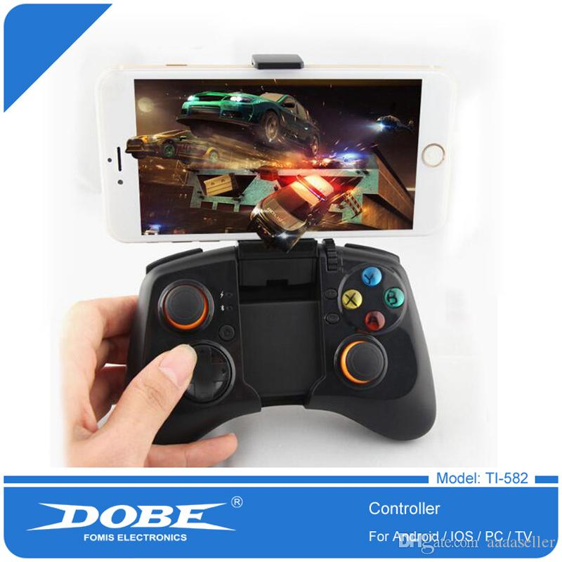 DOBE TI-582 Bluetooth Wireless Gamepad Game Gaming Remote Controller for Android Phone Joystick Game Pad with Retail Box DHL Free Shipping