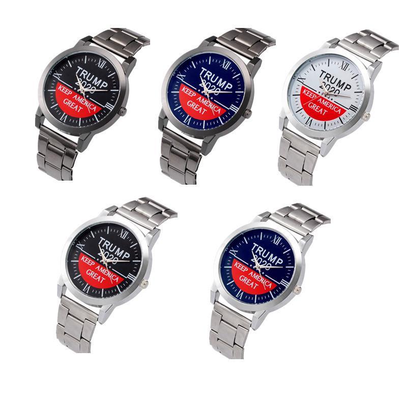 Trump 2020 Женщины Мужчины Часы 37мм из нержавеющей стали ремешок автоподзаводом серии SL39 Механические Стеклянные часы Письма ретро кварцевые наручные часы