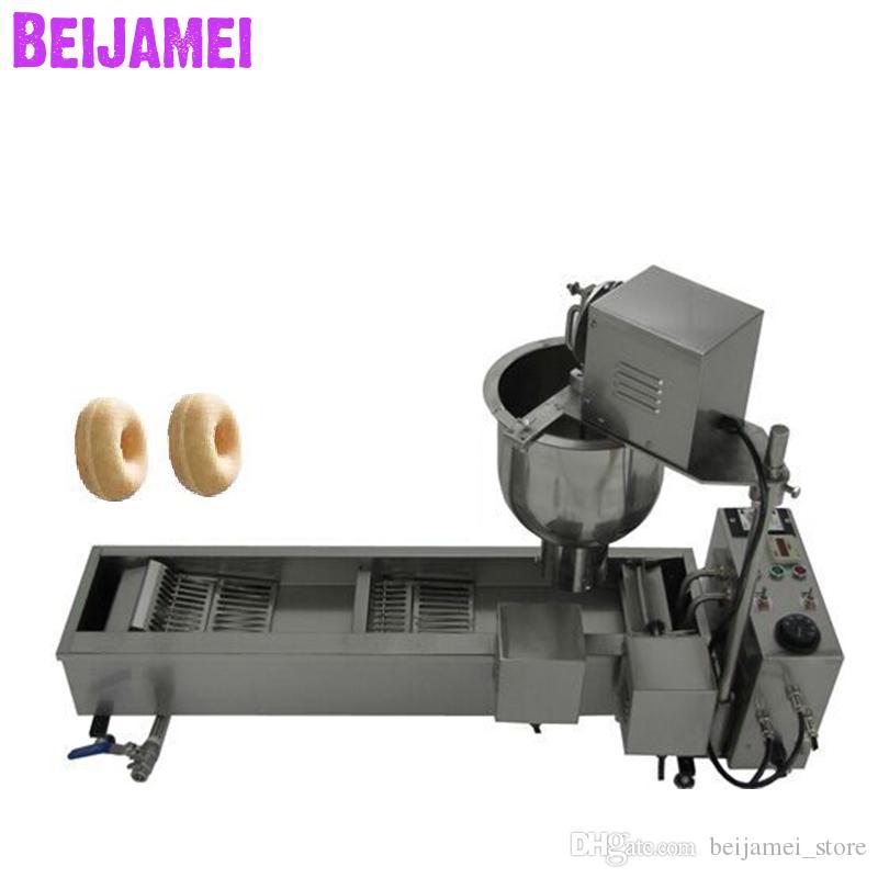 Beijamei New Factory وجبة خفيفة دونات ماكينة الكهربائية التجارية آلة دونات المقلاة جعل دونات 110V 220V
