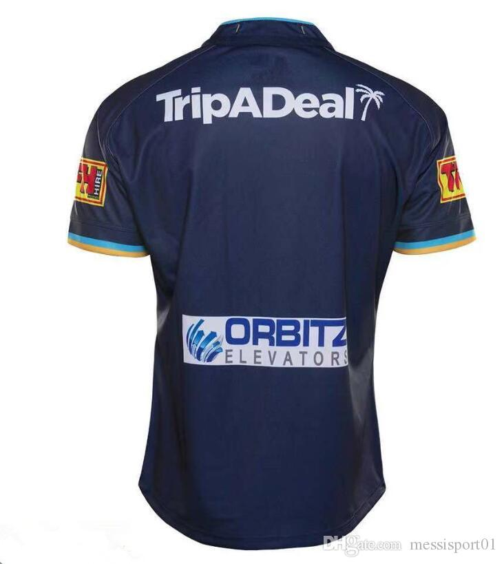 Titans New Uniforms 2020.2019 2019 2020 Titans Rugby Jersey 2019 Gold Coast Titans Home Jersey 2019 Gold Coast Titans League Gold Coast Titan Rugby Jersey Size S 3xl From