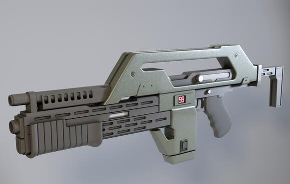 نبض خدمة طباعة بندقية مخصص أجل جودة عالية عالية الدقة النماذج الرقمية 3D ألعاب مضحكة ST6049