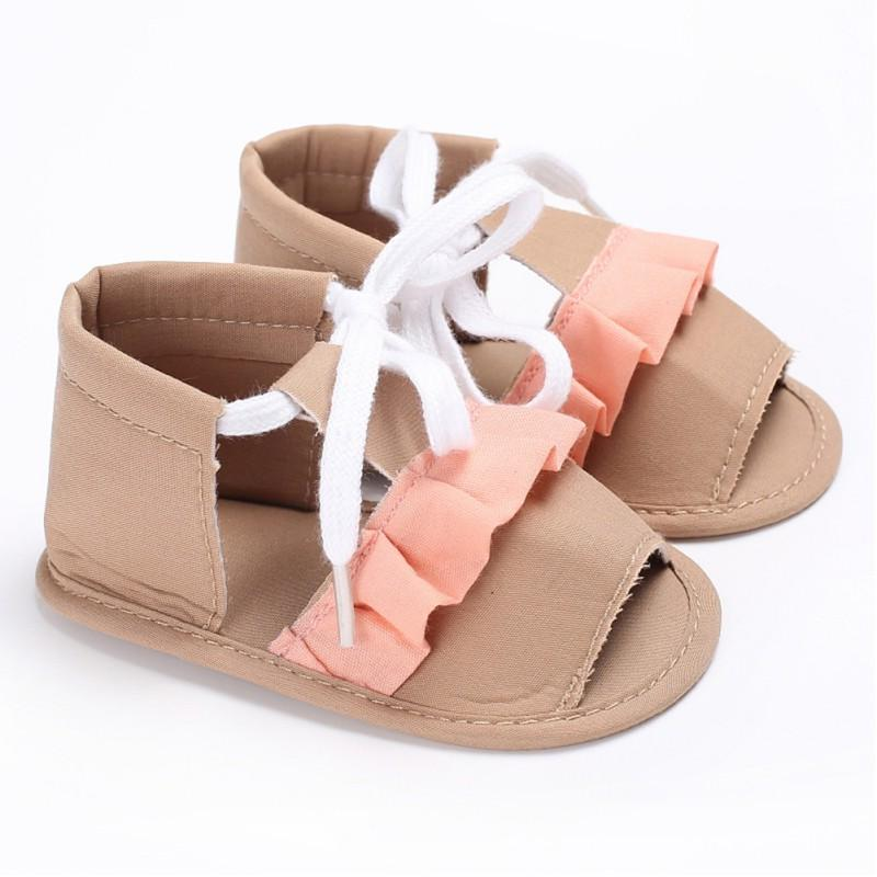 Первые ходунки 2021 летняя детская обувь для девочек-малышей национальные ветровые ремни мягкие подошвы