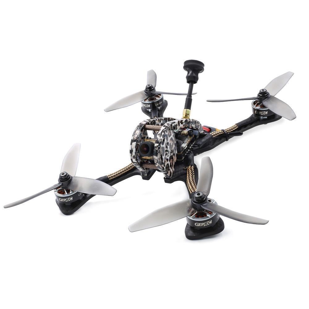 GEPRC GEP-LSX5 230mm 5 pulgadas FPV Racing aviones no tripulados con SPAN F4 40A BLHeli_S ESC 48CH 600mW VTX Caddx Ratel Cam BNF - FRSKY XM + Receptor