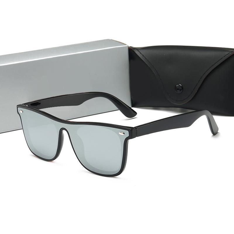 RayBan RB4440 Arılar ile Lüks Güneş Erkekler Kadınlar Marka Tasarımcı Popüler Moda Büyük Yaz Stili Üst Kalite UV Koruma Lens Kutusu Wang ile gel