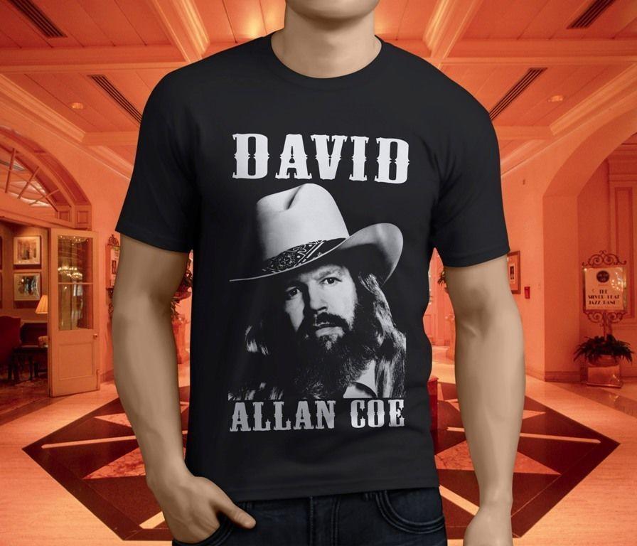 David Allan Coe Womens T Shirt Casual O Neck Short Sleeve Tees Tops