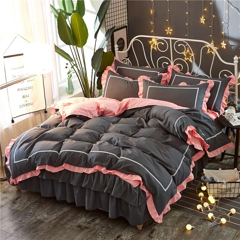Princess Fairy Luxurious Girls Duvet Quilt Cover Pillowcase Single Bedding Set