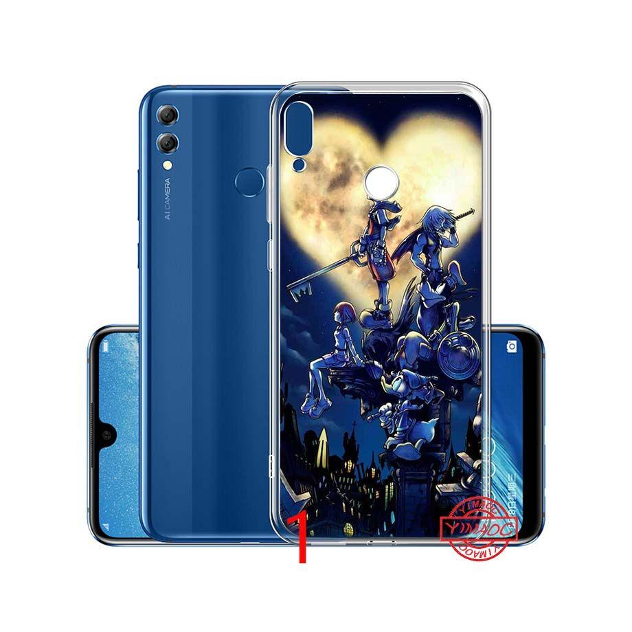 Custodie Silicone Kingdom Hearts Cool Cartoon Custodia Morbida Cellulare In Silicone Huawei P10 P20 Lite P8 P9 Lite 2015 2016 2017 Smart Cover ...