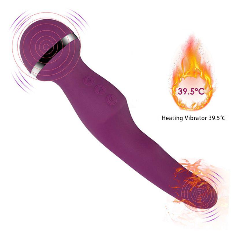 Powful Wand Vibrator G PunktMassager AV-Stock-Anreger vibrierender Dildo Vagina Klitoris Vibrator Erotic Geschlecht spielt für Frauen Y200421