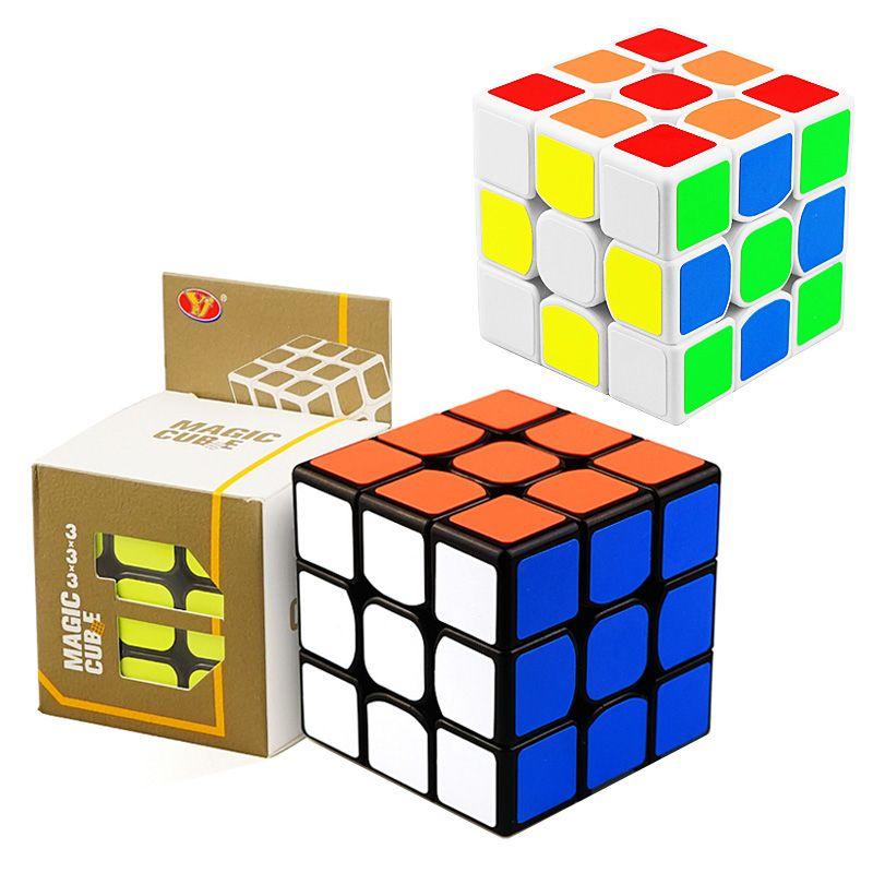 Cubo mágico Profissional Velocidade Enigma Cube Torção Brinquedos 3x3x3 Clássico Enigma Brinquedos Mágicos Adulto e Crianças Brinquedos Educativos DHL livre