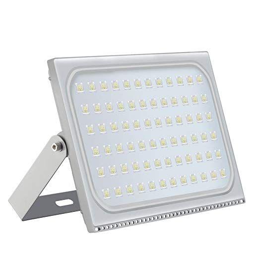 Projecteur LED extérieur 500W IP65 étanche sécurité extérieure Lampes de jardin Paysage Spot Lampe Super Bright Projecteur 110v