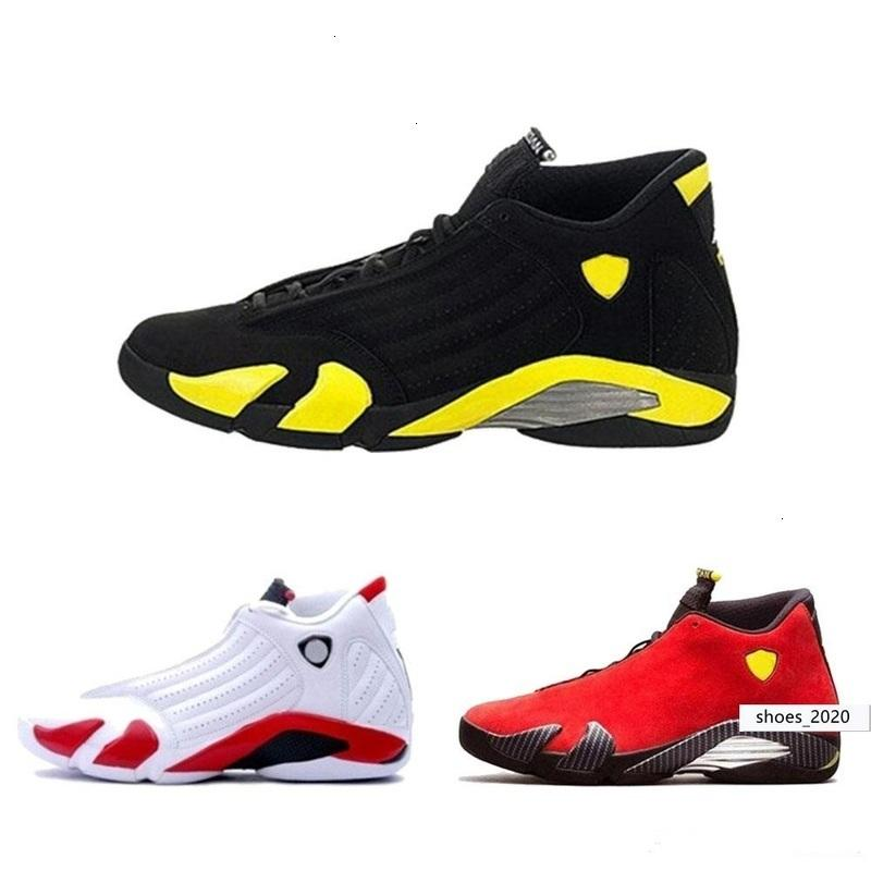 Classique Top 14 Chaussures de basket-ball Hommes Femmes concepteur Violet dernier coup Fusion noir Varsity Red 14s XIV Playoffs Sneakers