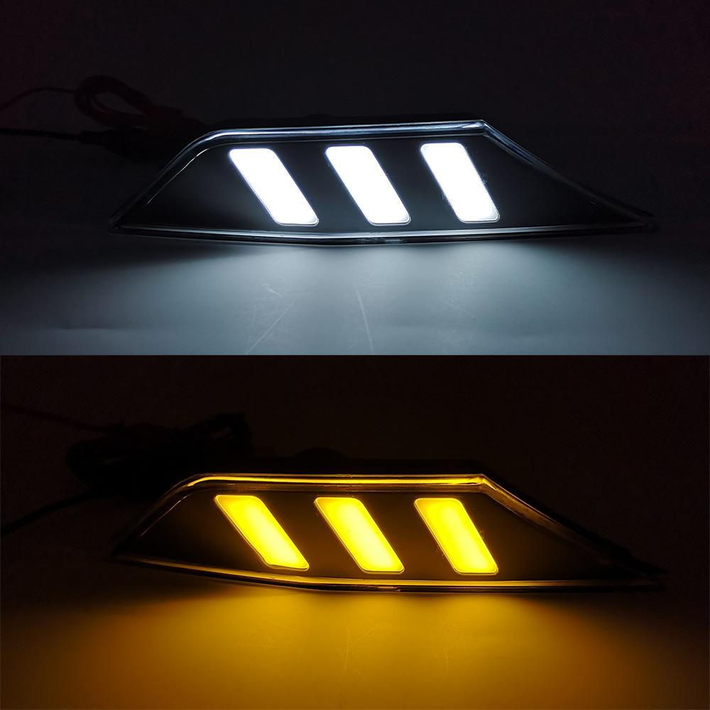 1 пара автомобилей Боковой габаритный Сигнальные огни Marker лампы LED DRL лампы для Honda Civic 2016 2017 2018