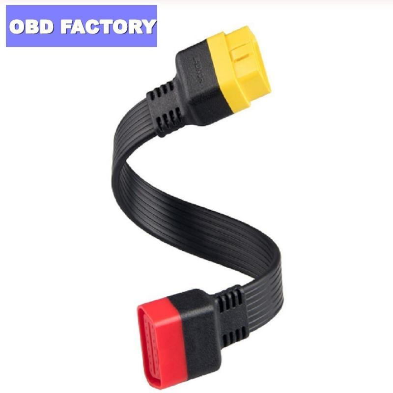 حار OBD كابل تمديد لX431 V / V + / PRO / PRO3 / Easydiag 3.0 / Mdiag / قولو الرئيسية OBD2 تمديد موصل 16PIN ذكر إلى أنثى