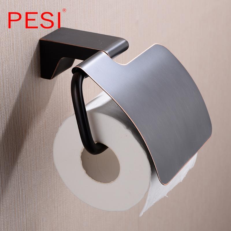 Baño de almacenamiento a prueba de agua de la humedad de la toalla Prueba Accesorios estante de la pared montado en soporte de papel higiénico titular del rollo de papel caja de pañuelos