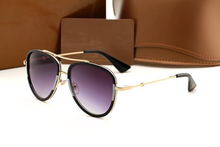 0062s en moda tasarımcısı erkek ve kadın güneş gözlüğü marka metal açılan çerçeve üst kaliteli anti-UV400