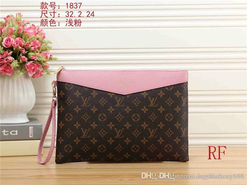 Дизайнерские женские мужские кожаные сумки Клатчи хозяйственная сумка кошелек сумка кошелек хорошее качество L1837