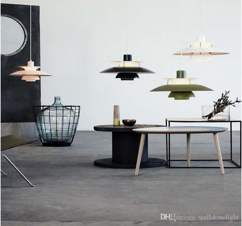 Großhandel Blanc Design Scandinave Nouveau Poul Hwnningsen PH5 Pendent  Lampe Lampen DE Pour Coisine Chambre Von Welldonelight, $243.22 Auf ...