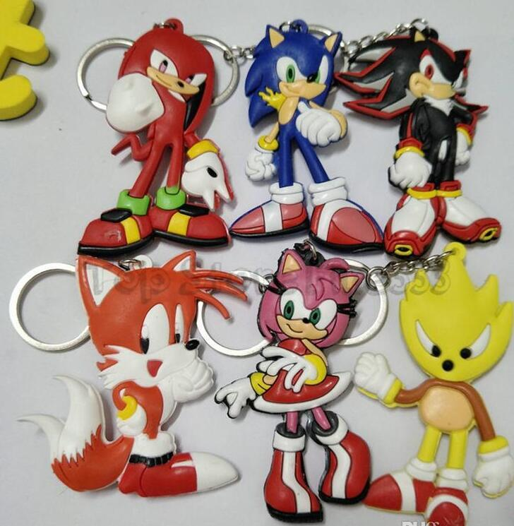 Sonic The Hedgehog Japanese Anime Sonic The Hedgehog Keychain Pvc Dijiao Keychain Sonic Double Pvc Keychain Wholesale Costume Props Novel Novelty Games For Sports Day From Freedom1688 0 91 Dhgate Com