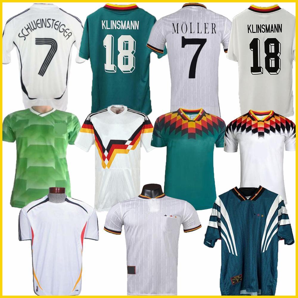 Чемпионат мира 1990 1992 1994 1998 1988 Германия ретро Littbarski BALLACK Soccer Jersey KLINSMANN Matthias home shirt KALKBRENNER JERSEY 1996 2004
