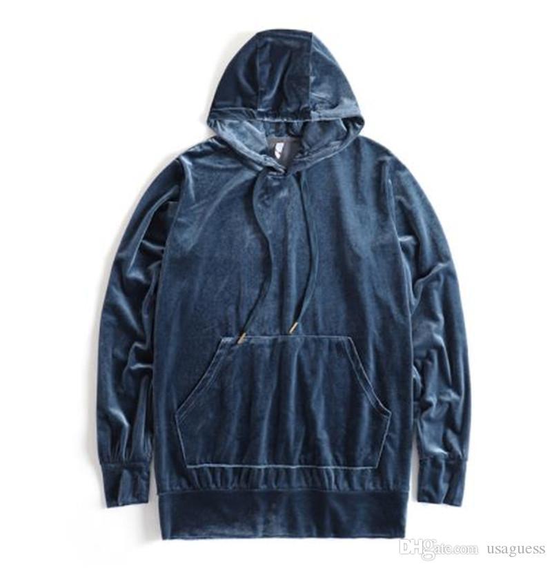 Velvets Mens losen Mantel Herbst Designer Herren-Pullover Langarm mit Kapuze Herren Sweat Shirts Frühling Aktiv Männlich Kleidung