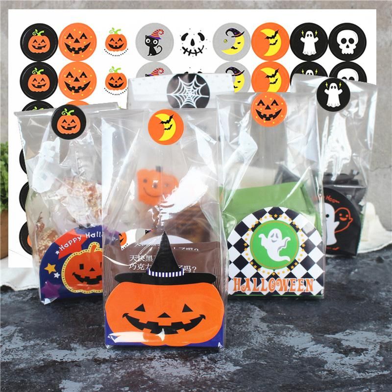 Goodie Bags Pumpkins Drawstring Bags 5x7 Ghosts Halloween Candy Bags Fabric Bags Birthday Party Favor Bags Party Supplies