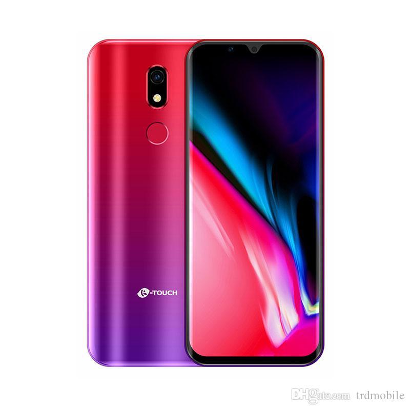 Новый KtouchM16 Fingerprint Face ID Android Мобильный телефон 3,5-дюймовый 3GB + 32GB ROM MT6739 QuadCore 2000mAh 13 Мпикс камера Dual SIM 4G LTE смартфон
