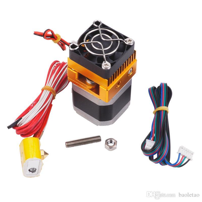 Upgrade Extrusora MK8 Cabeça J-cabeça Hotend Para Makerbot Prusa i3 Impressoras 3D Peças Com 1 pc MK7 / MK8 / MK9 Meia de Silicone Como Presente