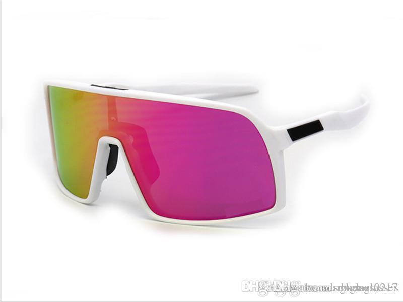 الرجال عالية الجودة النساء ركوب الدراجات النظارات الشمسية رياضة سباق الدراجات النظارات الشمسية Sutro الاستقطاب الرياضة في الهواء الطلق نظارات مع صندوق