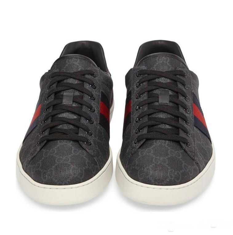 Gucci shoes Мода мода мужская женская роскошь Красное дно Мужчины Женщины мокасины кроссовки мода G Low повседневная квартира открытый Zapatillas обувь для вождения