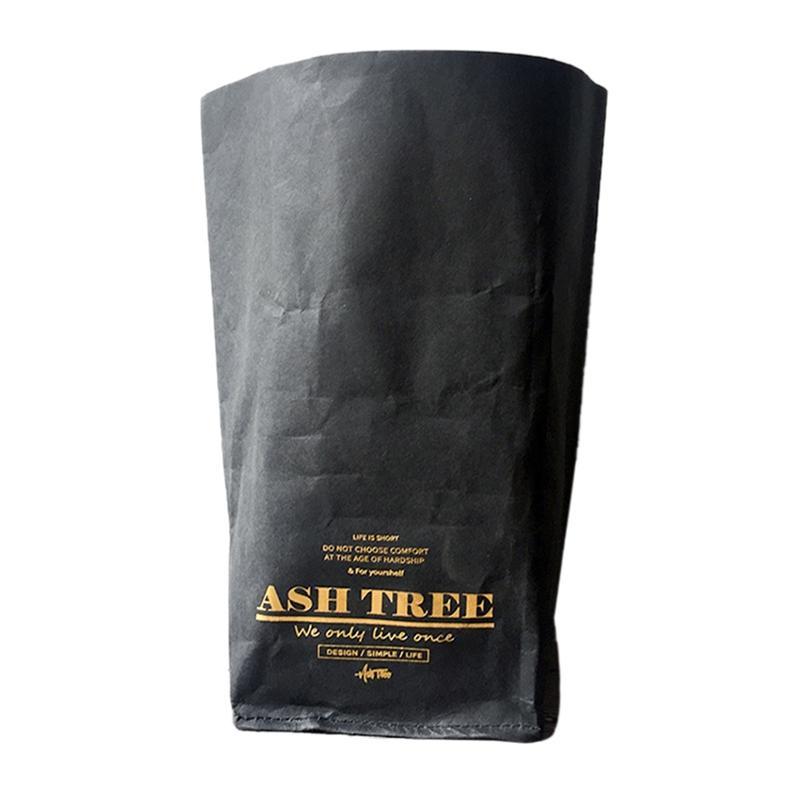 Grow Preto lavável papel Kraft saco de armazenamento Nordic Estilo vegetais Bags Saco da flor Suculentas Panelas plantas de armazenamento de papel para Home