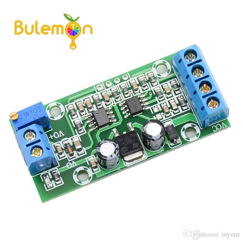 Freeshipping 2Pcs F/V Conversion Module 0-10KHZ To 0-10V Frequency To Voltage Digital To Analog Converter Module