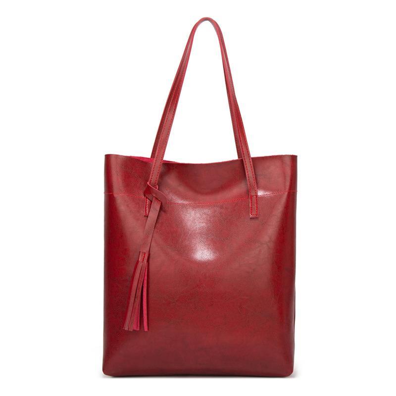 Messaggero delle donne borse in pelle nappa casuale borse femminili borsa vintage di grande formato Tote Shoulder Bag di qualità