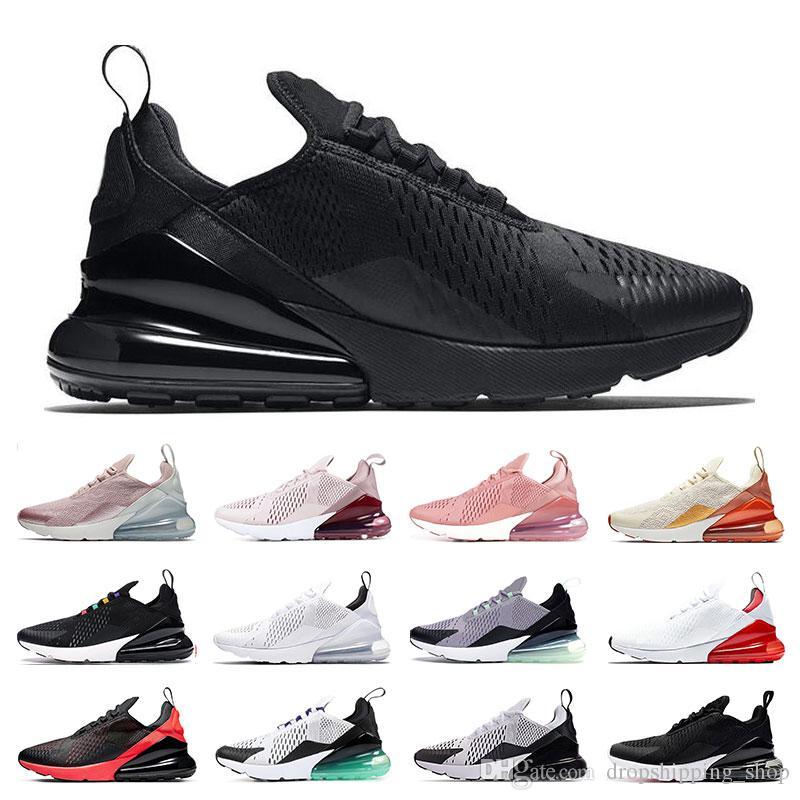 air max 270  2019 Laufschuhe für Männer Frauen Triple schwarz weiß haben einen Tag South Beach Throwback Future Sports Sneaker Trainer Größe 36-45