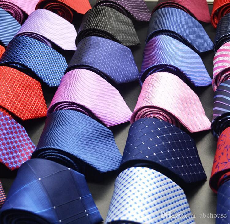 Mens Krawatten Neue Marke Mann Mode Dot Gestreiften Krawatten 8 cm Gravata Dünne Krawatte Klassische Business Casual Grün Krawatte Für Männer
