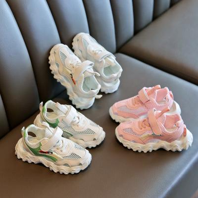 Дети сандалии Детский конструктор Спорт-сандалии мальчиков и девочек Повседневный дышащие кроссовки Детская Новая Outdoorwear Дети Летняя обувь 2020 Новые