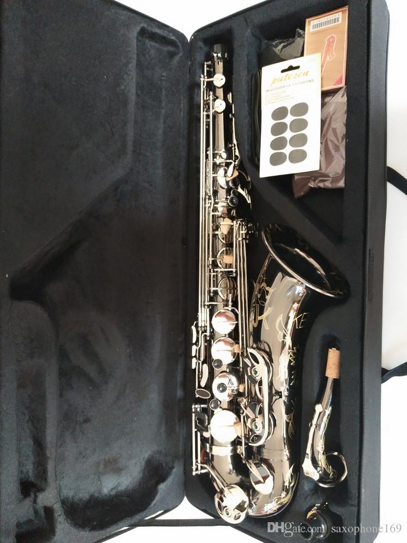 JK SX90R Keilwerth saxofón tenor Nueva Alemania níquel aleación de plata del saxofón del tenor profesional superior Bb instrumento musical de imagen real