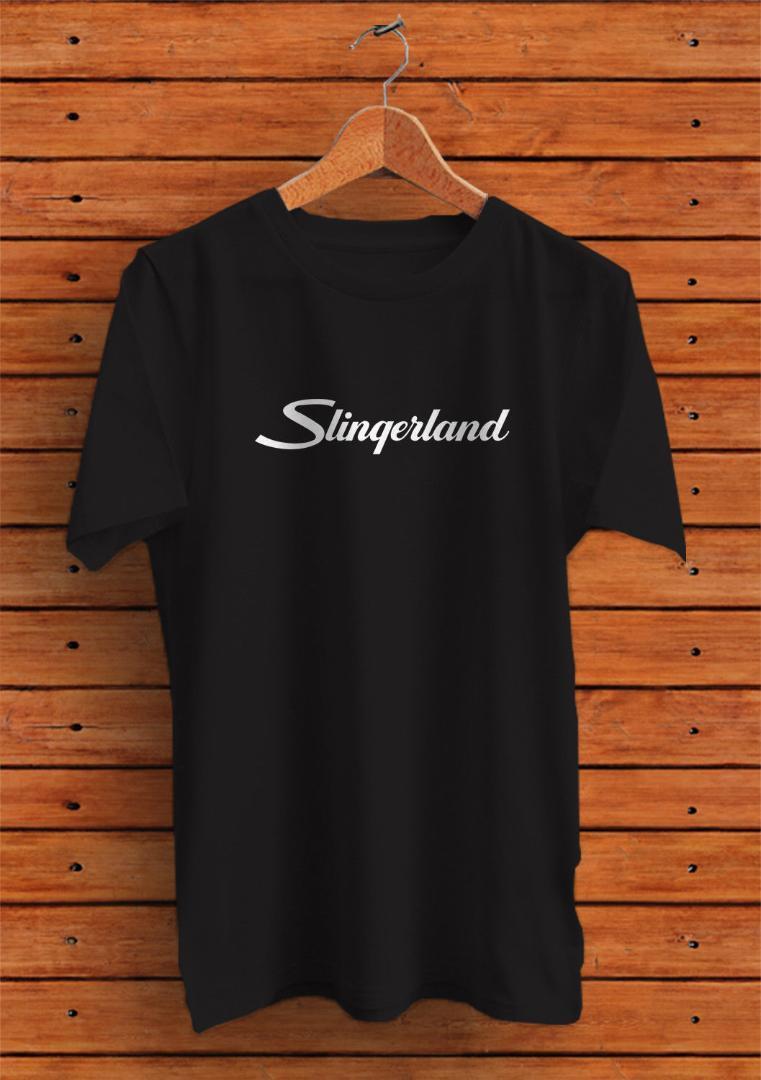 Slingerland Bass Drums Logo T Shirt  Size S M L XL 2XL 3XL
