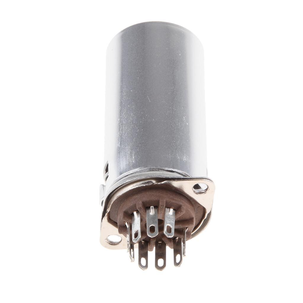 1 Stk Bakelite 9-pin Röhrenfassung Mit 40mm