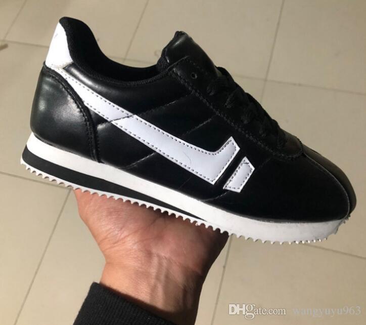 Scarpe da donna di alta qualità nuove scarpe da ginnastica moda scarpe casual scarpe sportive in pelle classico appartamenti PU pelle moda outdoor Sneakers taglia 36-45