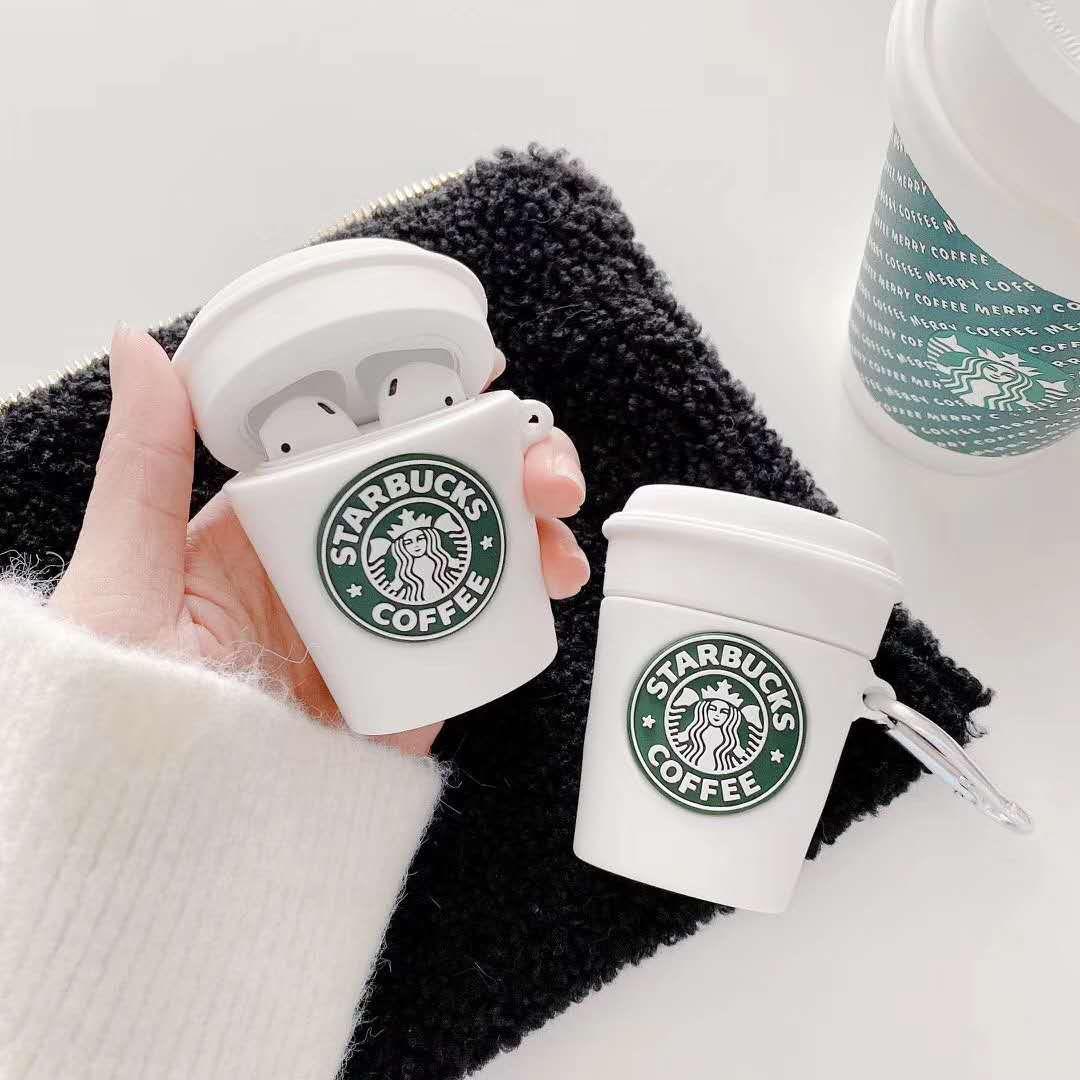 Для AirPods Pro Case Белый Старбакс Кубок Защитный силиконовый чехол для Apple AirPods 2 1 наушник зарядки крышки коробки