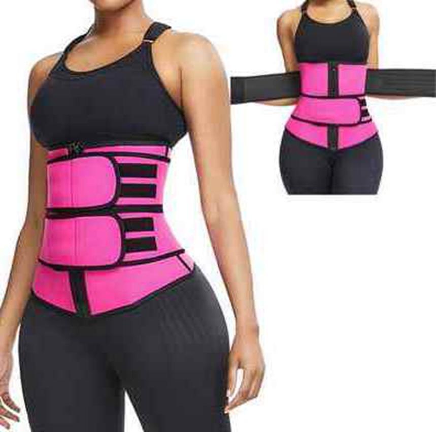 حار بيع المرأة ملابس داخلية للتنحيف الجسم الخصر مدرب التخسيس اللياقة البدنية Cincher الخصر حزام قابل للتعديل تجريب Shaperwear ZZA2169