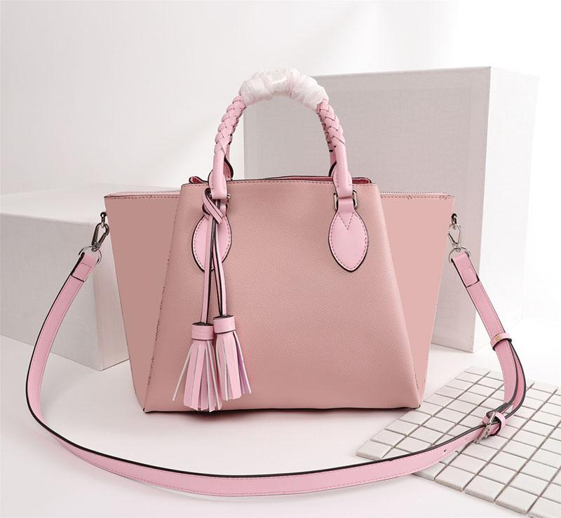 Rosa sugao bolsa de luxo carta e flor mulheres impressas bolsa de alta qualidade estilista bolsa nova moda bolsa de marca Lhome