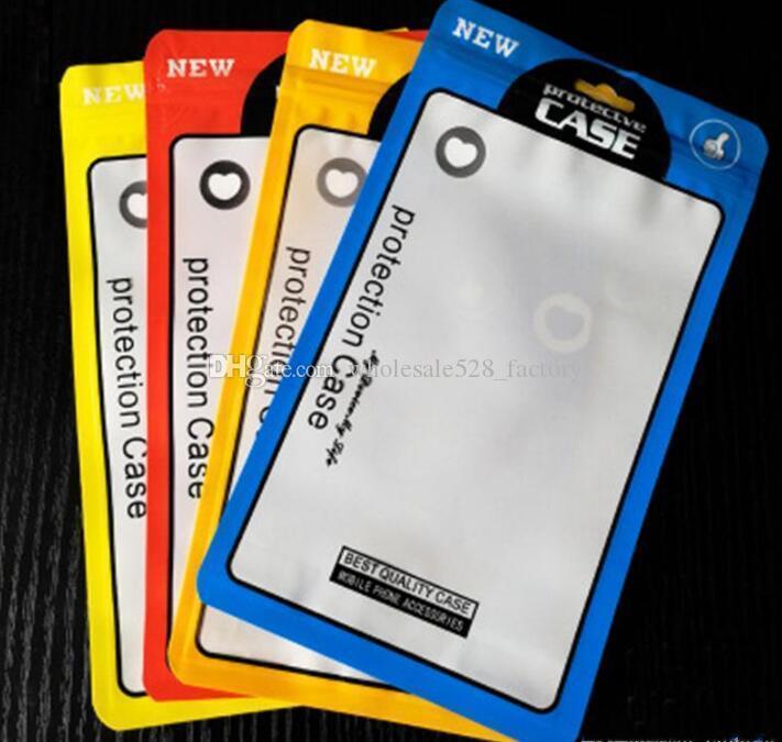 12 * 21cm OPP PVC 폴리 지퍼 소매 가방 잠금 포장 가방 플라스틱 OPP 소매 포장 패키지 파우치 가방