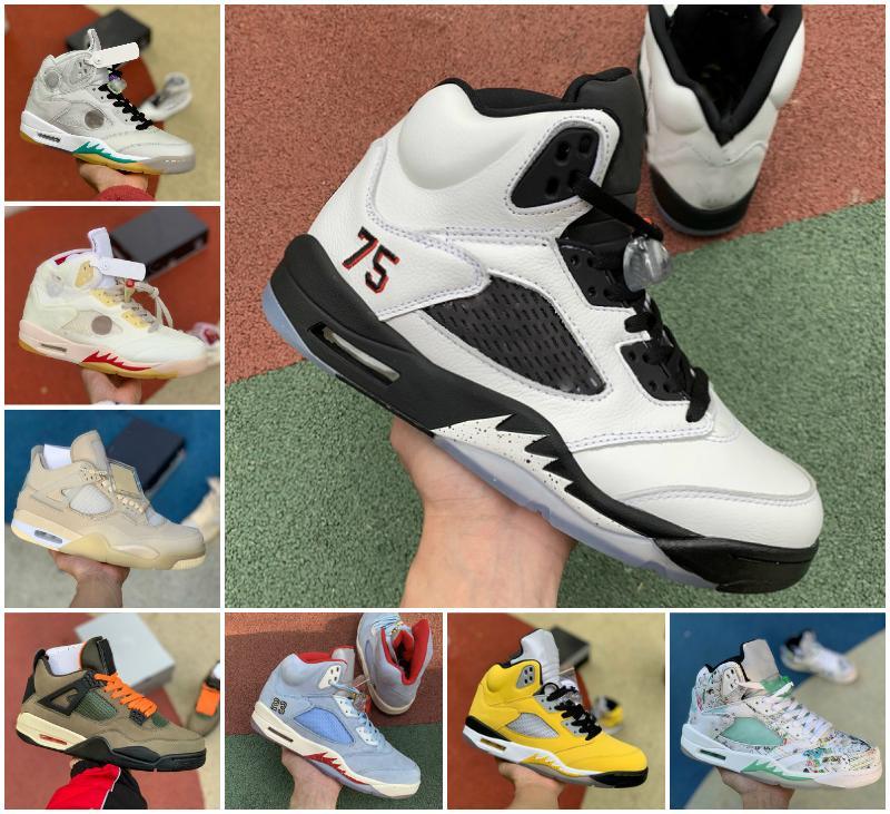 2020 Zapatos Rojo Fuego 5s Michigan baloncesto del Mens Blanco Negro 5 Green Island Varsity Royal Oregon Ducks lo que el diseñador Retroes oscuro zapatilla de deporte