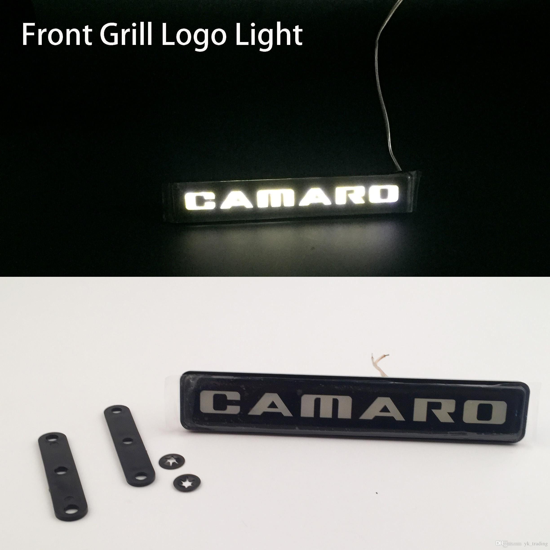 Chevrolet Camaro Corvette coche Auto emblema capó delantero parrilla parrilla capó logotipo luz