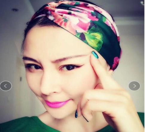 Cute Strawberry Headband Mask Multi-use Sports Hair Band Sweatband Turban For Cycling