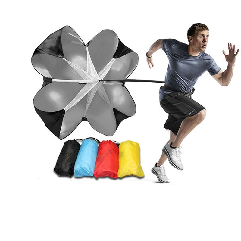 Скорость обучения бег перетащить парашют футбол обучение фитнес оборудование аксессуары скорость перетащить парашют физическое оборудование