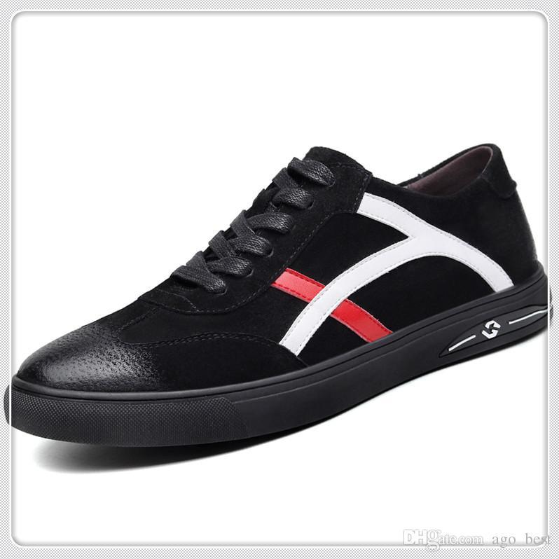 h1 oben Qualitäts Chain Reaction Luxus-Designer-Schuhe Herren Neue Modedesigner Turnschuhe Herrenschuhe Größe 38-45
